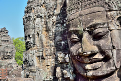 Face the face (paul.trottier) Tags: panorama colour beautiful temple photo nikon cambodia colours arty artistic handheld colourful nikkor complex 28300mm angkorthom lauracroft filmed d610 4frame tombraiders giantfaces banyontemple nikond610 paultrottier