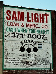 A Booming Business (pam's pics-) Tags: city urban usa signs architecture america advertising us midwest ad mo missouri citycenter pawnshop stlouismissouri loans handpaintedsign vintagesigns handpaintedsigns pammorris pamspics nikond5000 samlightpawnshop