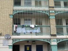 Hanging out the washing. (maggie jones.) Tags: london industrial sydney domestic improved dwelling waterlow iidc sydneywaterlow