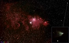 CHRISTMAS TREE, CONE, HUBBLE'S VARIABLE NEBULAE (johanm2915) Tags: cone christmastree nebulae monoceros hubblesvariable