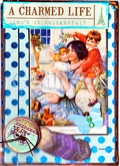 Mother Child ATC (gwillisinc) Tags: life blue children mother charmed swapbot gwillisinc