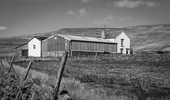 Moor House , Newbiggin . (wayman2011) Tags: uk farms dales pennines lightroom countydurham teesdale newbiggin bwlandscapes canon50d rabyestate wayman2011
