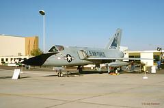 USAF, Convair F-106A  Delta Dart (Ron Monroe) Tags: usaf interceptor convair unitedstatesairforce f106 deltadart 90061