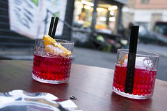 Campari Soda (teconleche) Tags: italy rome roma italia campari camparisoda