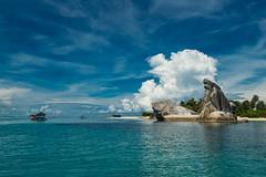 Belitung Photo Trip (Irwin Day) Tags: travel sea seascape beach landscape underwater snorkel laut dive pantai belitung belitong