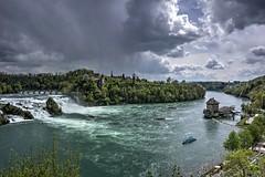 Rheinfall Schaffhausen 1/3 (afw | ph[o]to) Tags: river schweiz switzerland wasser rhein hdr flus 3px