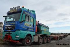 ALLELYS HEAVY HAULAGE MAN TGX 680 V8 T700 AHH (denzil31) Tags: man harbour v8 trailers osprey wick 680 spmt heavyhaulage tgx allelys mantrucks towheads stgocat3 isleburn