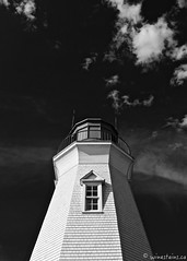 Port Dalhousie Lighthouse (winestains) Tags: lighthouse ontario clouds port waterfront bluesky niagara stcatharines dalhousie portdalhousie