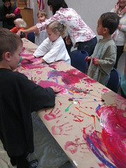 Art Start @ Haggard Library 4/1/16 (plano.library) Tags: art paint library libraries tx haggard preschool plano fingerpainting artstart ppls libraryprogram earlylearning earlyliteracy planopubliclibrarysystem