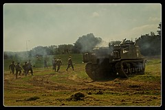 army reenactment (paulsretrography1963) Tags: dadsarmy