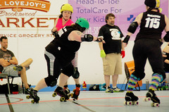 120 (Bawdy Czech) Tags: city oregon lava track dolls flat bend glory or n s jo dirty chips skate bitch roller april skater melons anonymous derby 2016 lcrd overbeaters