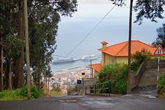 wheeeeeee!!!! (kfinlay) Tags: sol portugal port harbour gradient madeira slope aida steep funchal oosterdam