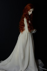 The lady in white 4 (karasu35) Tags: christina bjd dollchateau