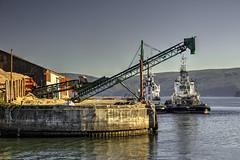Puerto Las Mulatas, Valdivia (Cristian Alczar C.) Tags: chile las ro port river puerto boat barco hdr valdivia remolcador mulatas losros