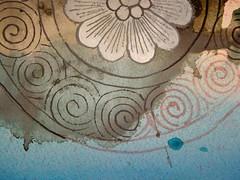 DSC09497 (scott_waterman) Tags: detail ink watercolor painting paper lotus gouache lotusflower scottwaterman
