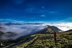 雲海 (Wi 視覺) Tags: light sunset sky cloud landscapes taiwan 台灣 合歡山 天際線
