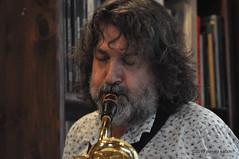 M4099432 (pierino sacchi) Tags: musica sax saxophone libreria recitazione baritono oneiros andreaferrari libreriacardano simonemocennibeck igorebulipoletti