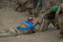 Pull (stevefge) Tags: people men netherlands sport mud nederland viking berendonck nederlandvandaag reflectyourworld strongviking