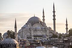 sulemaniye mosque (eb78) Tags: architecture turkey minaret middleeast istanbul mosque fatih sulemaniyemosque