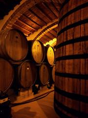 The cellar (Veronicamente) Tags: cantina cellar sicilia botti marsala storia florio