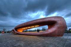 The Amazing Whale Jaw (Esther Seijmonsbergen) Tags: holland architecture thenetherlands pr publictransport hdr busstation architectuur ov openbaarvervoer bussen 5xp funkyarchitecture theamazingwhalejaw nioarchitects estherseijmonsbergen catchabus busstationhoofddorp spaarnegasthuis