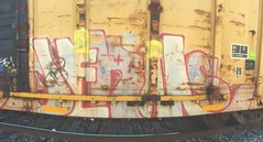 Jerms (MC. Squared) Tags: graffiti freight 4dc jerms a2m