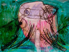 Birth Of Epikt (giveawayboy) Tags: fiction art painting tampa sketch paint artist acrylic drawing crayon paragon lafferty fch giveawayboy billrogers ralafferty raphaelaloysiuslafferty arriveateasterwine ktistecmachine epikt epiktistes