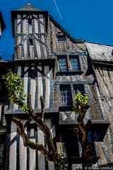 Vieux Tours / Old Tours (christian_lemale) Tags: house france nikon tours halftimbered colombages touraine pansdebois d7100 maiqon