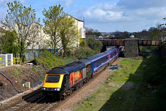 43172 'Harry Patch' at Lawrence Hill on 24th April 16' (LusitaniaD225) Tags: bristol diverted hst lawrencehill 43172 harrypatch hstvinyl