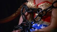 Wonder Woman Meets Baroness Von Gunther 20 (Tom Simpson) Tags: woman sexy girl television vintage comics chains costume amazon breasts princess boobs bondage bdsm wonderwoman tied cleavage bound pinup lyndacarter vintagetelevision wonderwomanmeetsbaronessvongunther