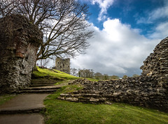 From 1176. (Darren Flinders) Tags: england castle history castles clouds countryside derbyshire peakdistrict stormclouds highpeak castleton peverilcastle englishheritage