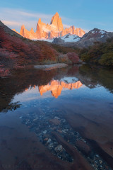 Buenos das bonita Fitzroy! (terenceleezy) Tags: chile patagonia southamerica argentina fitzroy torresdelpaine lagunadelostres cuernosdelpaine parquenacionaltorresdelpainemiradortorres
