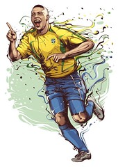 #Ronaldo #ElPhenomeno #R9 #brazil #legend (anupbaral) Tags: brazil legend ronaldo r9 elphenomeno