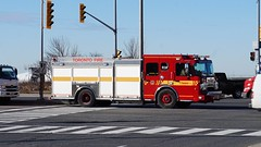 Toronto Fire Services Rescue 134 (Canadian Emergency Buff) Tags: rescue toronto ontario canada crimson fire firedept firedepartment services spartan tfd 134 pumper dependable tfs r134 torontofireservices torontofire metrostar torontofiredepartment torontofiredept