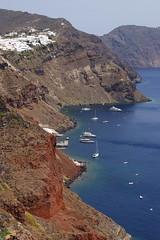 The port in Oia (Steenjep) Tags: sea house holiday home view santorini greece caldera oia ferie grkenland