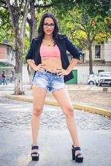 Yoli by Lex (Lex Arias / LeoAr Photography) Tags: street portrait urban woman streetart fashion calle mujer model glamour nikon photoshoot artistic retrato venezuela moda modelo urbana sesion pinup barquisimeto diversion streetfashion artecallejero 2016 callejera yolianny nikond3100 leoarphotography lexarias iglexariasphotos
