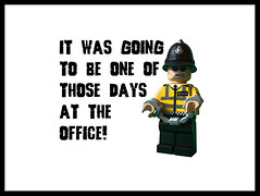 One of those days at the office! (tim constable) Tags: work office idiot mare error police firstday terrible copper prank newbie mistake nightmare clueless met captive bully job badday lawandorder metropolitan handcuffs apprentice prisoner policeman stagnight calamity groundhogday incompetent occupation lackofjudgement onthebeat newrecruit pickedon goingwrong newstarter didntthinkitthrough lostthekeys togoingright