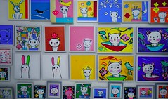 Million Toys Museum: Painted By Krirk Yoonpun (ArtyCh.) Tags: cats cute kids paint colours cartoons ayutthaya