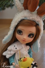 Juliette (~Louna~) Tags: christmas noel full wig pullip custom noël fc custo obitsu nomyens