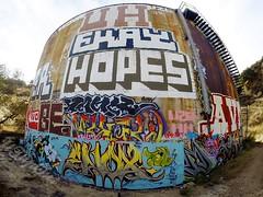 (UTap0ut) Tags: california art cali graffiti la los paint angeles socal cal hopes be graff uh enox ekay utapout