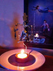 10.01.2016  Moomin candle (ichabodhides) Tags: england january presents dudley moomins 2016