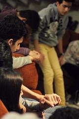All we do is for You (María F. Romero) Tags: light boy luz girl 50mm holding hands god bokeh prayer pray praying jesus teens manos niña together niño adolescentes jesús dios juntos holyspirit orar orando oración espíritusanto agarrando canont5 50mm18stm