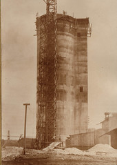 Cement Tower Being Constructed