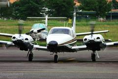 The Seneca (Antnio A. Huergo de Carvalho) Tags: airplane aircraft aviation piper avio propeller seneca aviao hlice senecav pa34220t prdaf