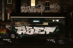 Aset, Bas, Depo... (Alex Ellison) Tags: urban night graffiti hit boobs tag railway chrome graff bas atg trackside depo aset rans northwestlondon lwi 1t nekah