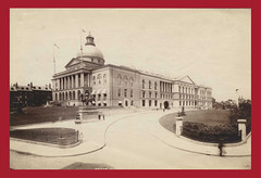 Photograph of Brigham's Addition, undated (State Library of Massachusetts) Tags: extension addition 1889 1895 massachusettsstatehouse charlesbrigham