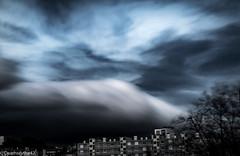 Ciel de tempte sur la ville (Deathscythe42) Tags: sky cloud canon landscape ciel nd tempest nuage paysage loire tempte filtre rhnealpes sainttienne nd1000 efs18135is eos70d