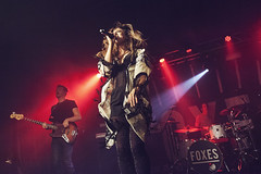 Foxes @ O2 Academy Birmingham 13 (preynolds) Tags: jumping concert birmingham raw dof singing stage gig livemusic band noflash pop singer mark2 stagelights soloartist tamron2470mm canon5dmarkii counteractmagazine