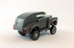 1940 Ford Sedan delivery gasser (timhenderson73) Tags: street hot ford sedan lego 1940 rod custom coupe gasser kustom