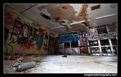 The Morgue at KPPC (Craig Kempf) Tags: ny newyork abandoned dead death graffiti urbanexploration kingspark abandonment morgue urbex kingsparkpsychiatriccenter kppc craigkempf